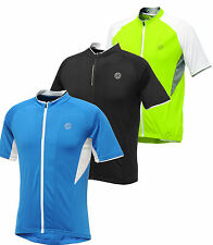 Dare2b Emanate Mens Cycle Jersey Cycling Full zip Short Sleeve DMT108