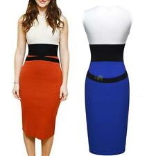 LADIES SUMMER CROP TOP SKIRT SIZE 8-18 MIDI BODYCON EVENING COCKTAIL PARTY DRESS