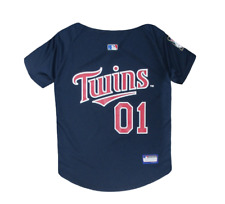 MLB Pet Fan Gear MINNESOTA TWINS Jersey T Shirt Tank Tee for Dog Dogs Puppy