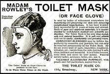 Toilet Mask : advertising Poster reproduction