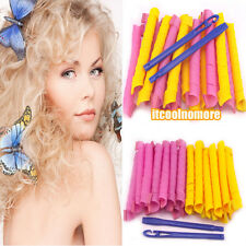 New more  21inch/55cm Magic Hair curlers Roller Spiral Curlformers Free shipping