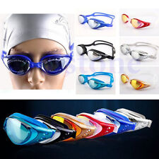 Adjustable New Adult Eye Protect Uv Anti-fog Swimming Goggle Glasses Practical