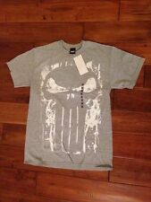 Bone Decay Punisher Movie Grey Mens Marvel T shirt War Zone Frank Castle M-L