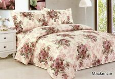 NEW Quality Microfiber  Floral Design  Wrinkle Free High Thread Count Sheet Set
