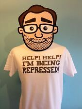 Monty Python T Shirt - Help Help I'm Being Repressed - Holy Grail