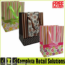 NEW SMALL GIFT PAPER BAG JEWELRY BAG PRINTED FASHION CARRIER BAG FOR RETAIL SHOP