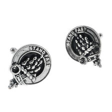Scottish Clan Crest Cufflinks - Choice of 100+ Clans - Names A to D
