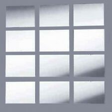 Rectangle Mirror & Mosaic Mirrored Tiles (3mm Acrylic Mirror, Several Sizes)