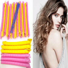 "EXTRA LONG Magic Hair Curlformers Rollers Spiral Ringlet for 25""/65cm Curlers"