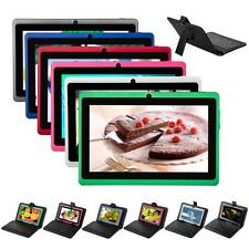 """7"""" Android 4.2.2 DUAL CORE/CAMERA MUTLI-COLOR Tablet PC 4GB/8GB A23 Keyboard"""