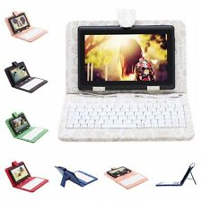 "iRulu Tablet PC 7"" Android 4.2 8GB Dual Core Cameras Black w/ Cartoon Keyboard"