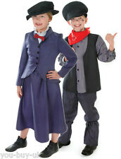 Girls Victorian Nanny McPhee Mary Poppins Boys Chimney Sweep Costume Book Week