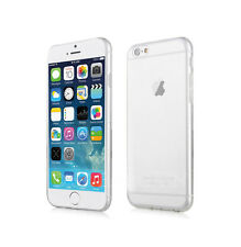 Slim Ultra Thin Hard Back Crystal Clear Protector Case Cover For Apple & Samsung