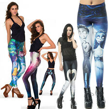 NEW Fabulous Fancy Funky Fun Graphic Fashion Print Galaxy Pants Leggings Tights