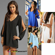 Sexy Hot Women Summer Casual Sleeveless Party Evening Cocktail Short Mini Dress
