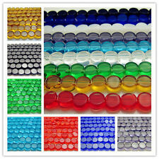 Free Wholesale Glass Rondelle Spacer Loose Beads findings 6mm Many Colors Choose