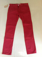Soul Star Skinny fit jeans all sizes new with tags red free uk postage