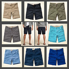 NEW HOLLISTER HCO by Abercrombie Classic fit &Beach Prep fit at The Knee Shorts