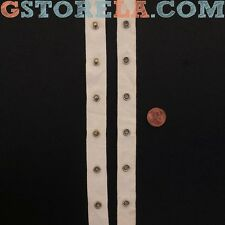"Beige Snap Tape Buttons 3/4"" Inch, Choose Length *Closeout Prices* 014"