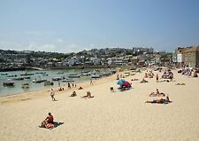 004 St Ives Cornwall England - Photo Prints A4 A3 or CANVAS