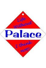 Crystal Palace Car/window signs / Personalised signs / flexible magnets