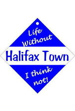 Halifax Car/window signs / Personalised signs / slap-on magnets