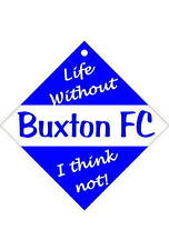 Buxton Car/window signs / Personalised signs / flexible magnets