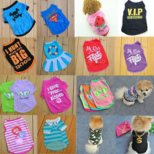 9 Styles Pet Dog Cat Cute Summer Clothes Coat Puppy Fancy Dress Costumes Apparel