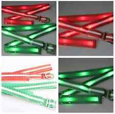 Luxury Waterproof ❤CHEAP❤ Utility Flashing LED Light Unique Canvas Belts Rope R1