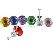 Glisten Crystal Glass Door Knob Drawer Handle Door Handles Lever Window Handles