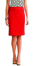 BANANA REPUBLIC Sloan Pencil Skirt Various Regular and Tall Sizes NWT Red Color