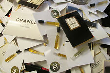 CHANEL PERFUME COLOGNE SAMPLE VIAL - NEW MANY RARE - CHOOSE YOUR FAVORITES -