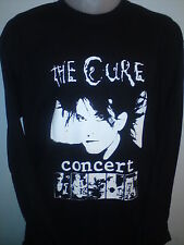 THE CURE CONCERT LONG SLEEVED SHIRT robert smith siouxsie dvd poster ALL SIZES