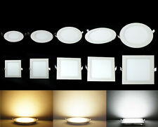 Bright 6W/9W/12W/15W/18W/21W Dimmable CREE LED Recessed Ceiling Panel Down Light