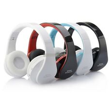 Stereo Bluetooth Wireless Headphones With Mic For Mobile Phone PC Tablet 4 Color