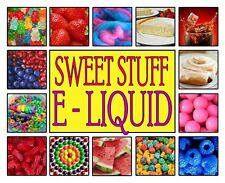 Sweet Stuff E Liquid 10ml Vape 30ml Juice 0 Nicotine Eliquid Ejuice Refill USA