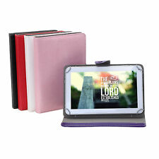 "Multicolor 9"" Folio PU Leather Smart Case Cover Skin Stand for 9 Inch Tablet PC"