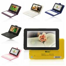 """iRulu 7"""" 8GB Android 4.2 2G GSM Phone Call Dual Core Camera Tablet PC w/Keyboard"""