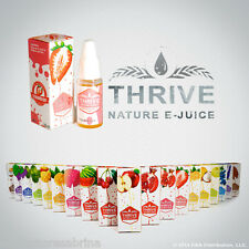THRIVE Flavoured E-Juice/ E-liquid Refills For Electric Shisha Pens (Pack of 10)