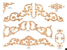 Traditional Ornamental Decoration, Decorative Wood Dust Decors, Furniture Making