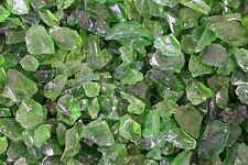 Green Recycled Fire Glass