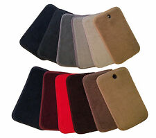LOGO Carpet Velourtex Small Deck Mat Floor Mat for Chrysler Crossfire #V2367