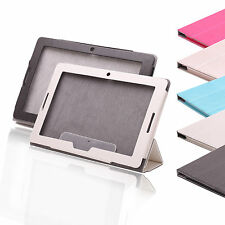 "Tri-folds Stand PU Leather Case Cover For Lenovo A10-70 A7600 10.1"" Tablet"