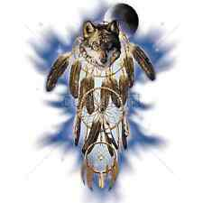 Wolf Dream Catcher In Space T-Shirt & Tank Tops All Sizes & Colors (433)