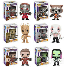 New Marvel Guardians Of The Galaxy Pop Vinyl Bobble-Head Figures Star-Lord Groot