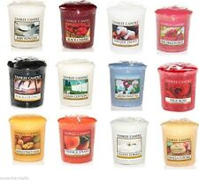 YANKEE CANDLE CLASSIC VOTIVE / SAMPLER COLLECTION - 15 HOURS BURN TIME.