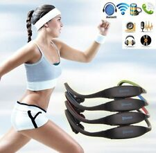 Sports Wireless Bluetooth Music Headset Earphone For Laptop PC Tablet Cell Phone