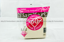 HARIO JAPAN Coffee Paper Filter V60  Size VCF 02 100M Lots Manual Pour Over