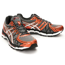 ASICS GEL-KAYANO 20 MENS RUNNING SHOES T3N2N-7501 STORM-WHITE-RUST