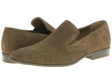 Calvin Klein Mens Shoes Casual Performance Suede Channing F0410 Dark Tan